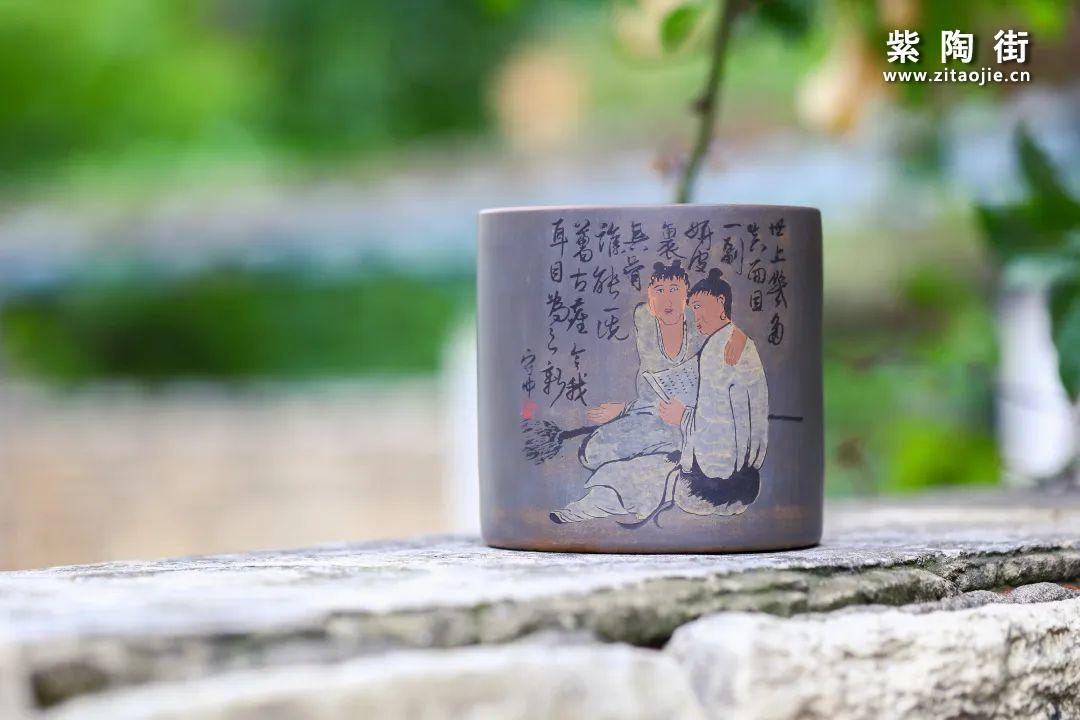 建水紫陶金鹏作品赏插图7