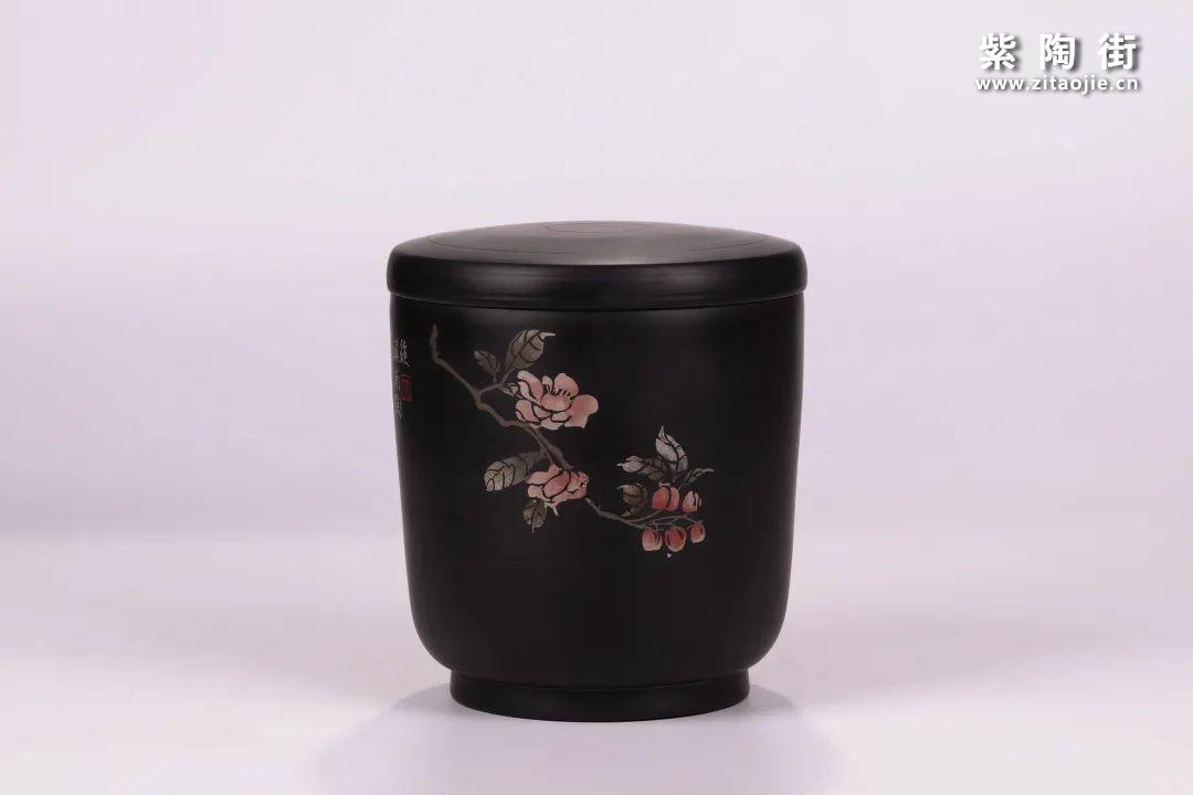 建水紫陶醒茶罐插图14