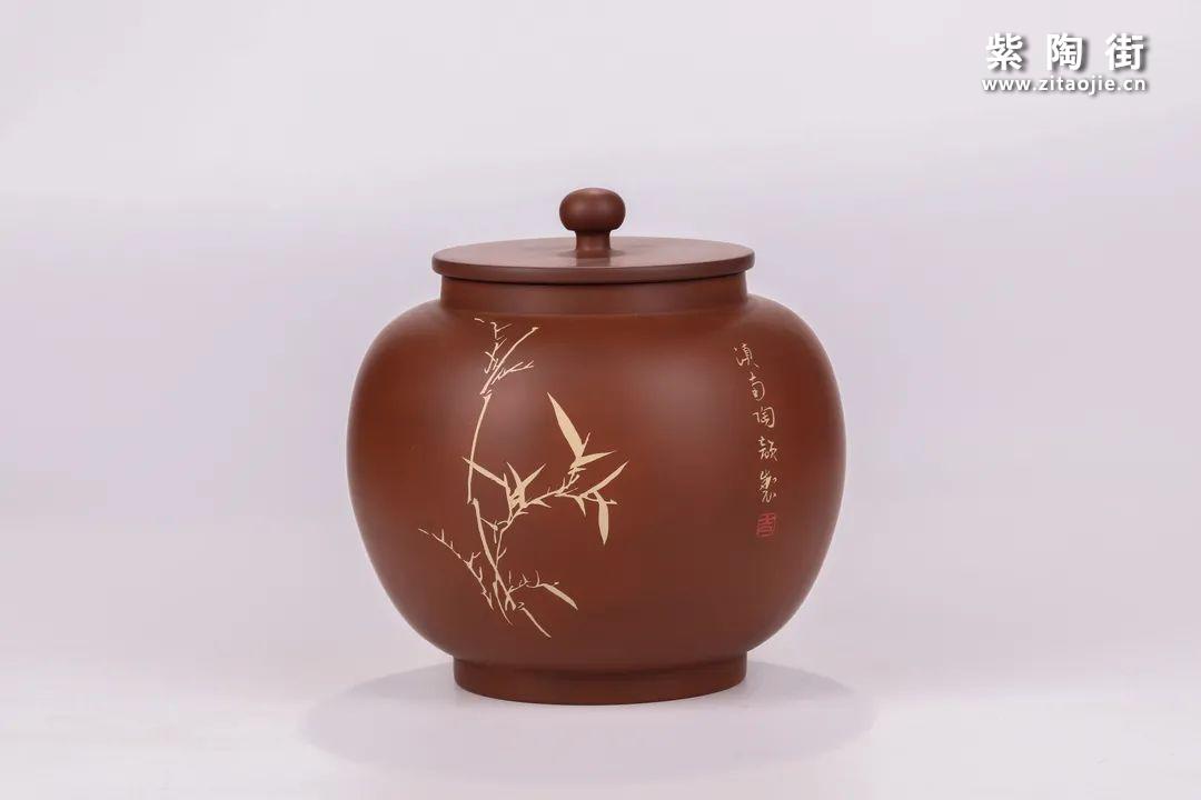 建水紫陶醒茶罐插图25