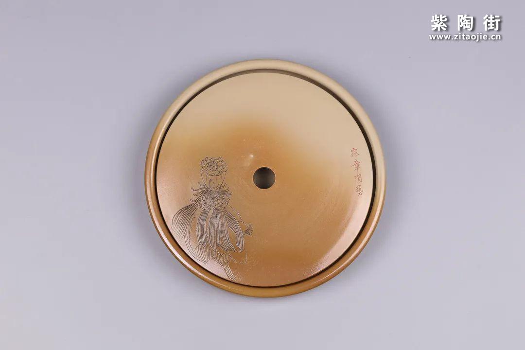 建水紫陶干泡盘插图15