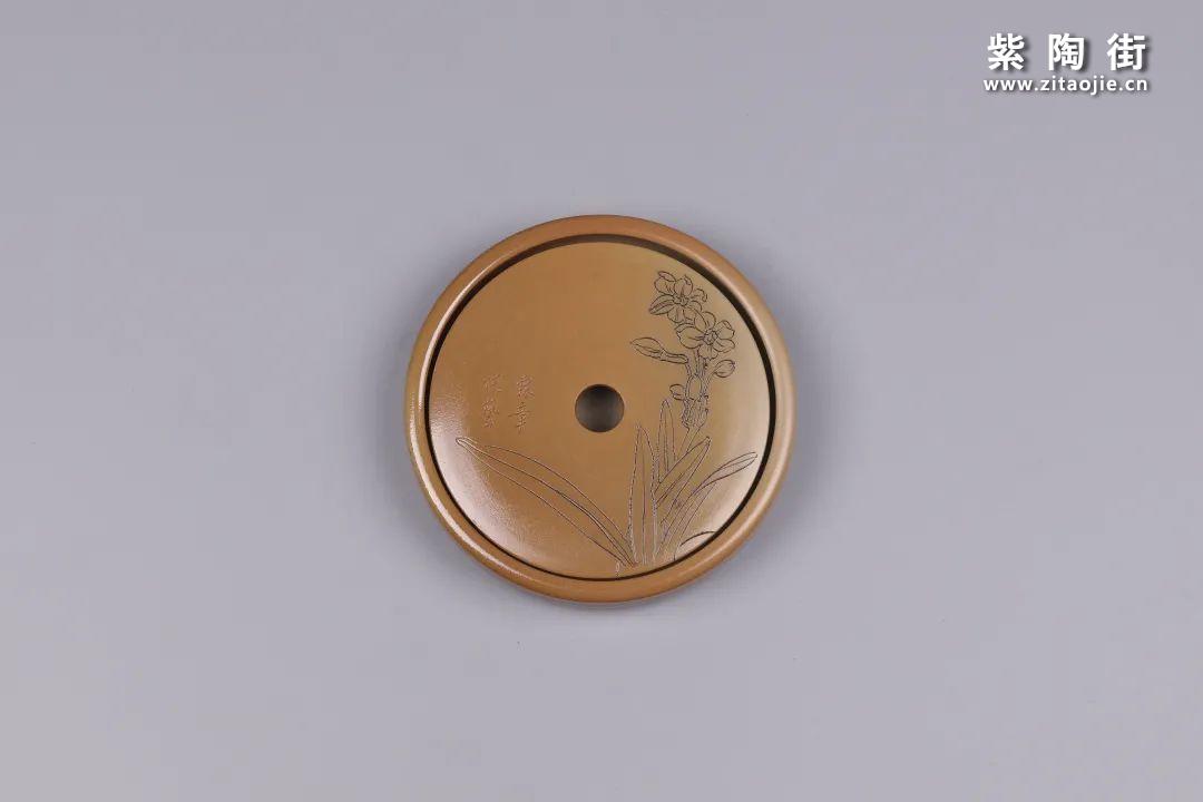 建水紫陶干泡盘插图64