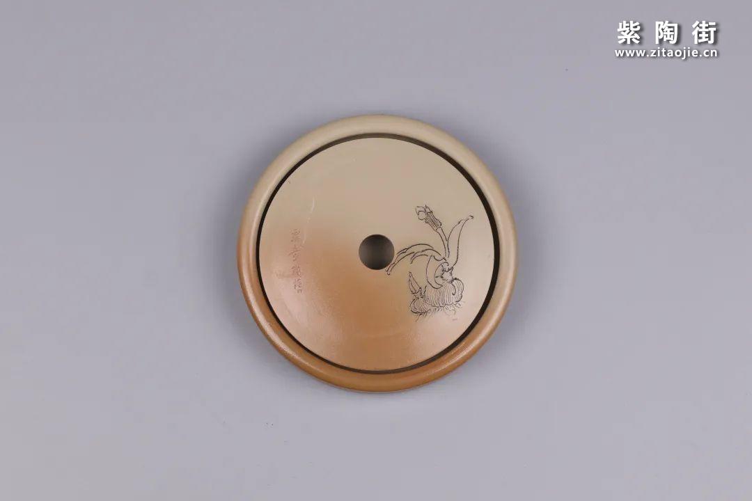 建水紫陶干泡盘插图26
