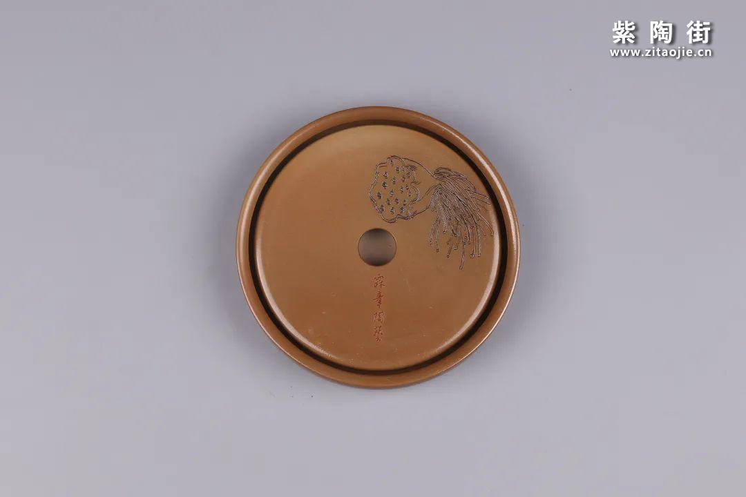 建水紫陶干泡盘插图123