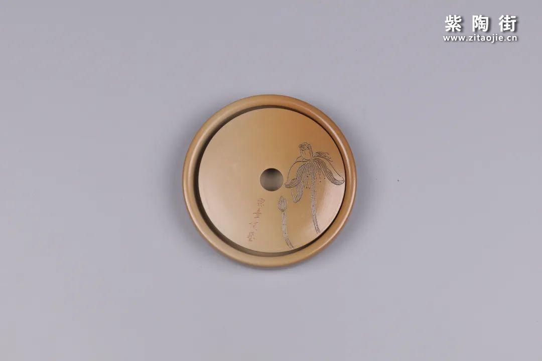 建水紫陶干泡盘插图87