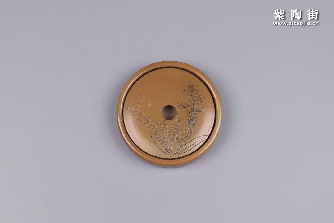 建水紫陶干泡盘插图90