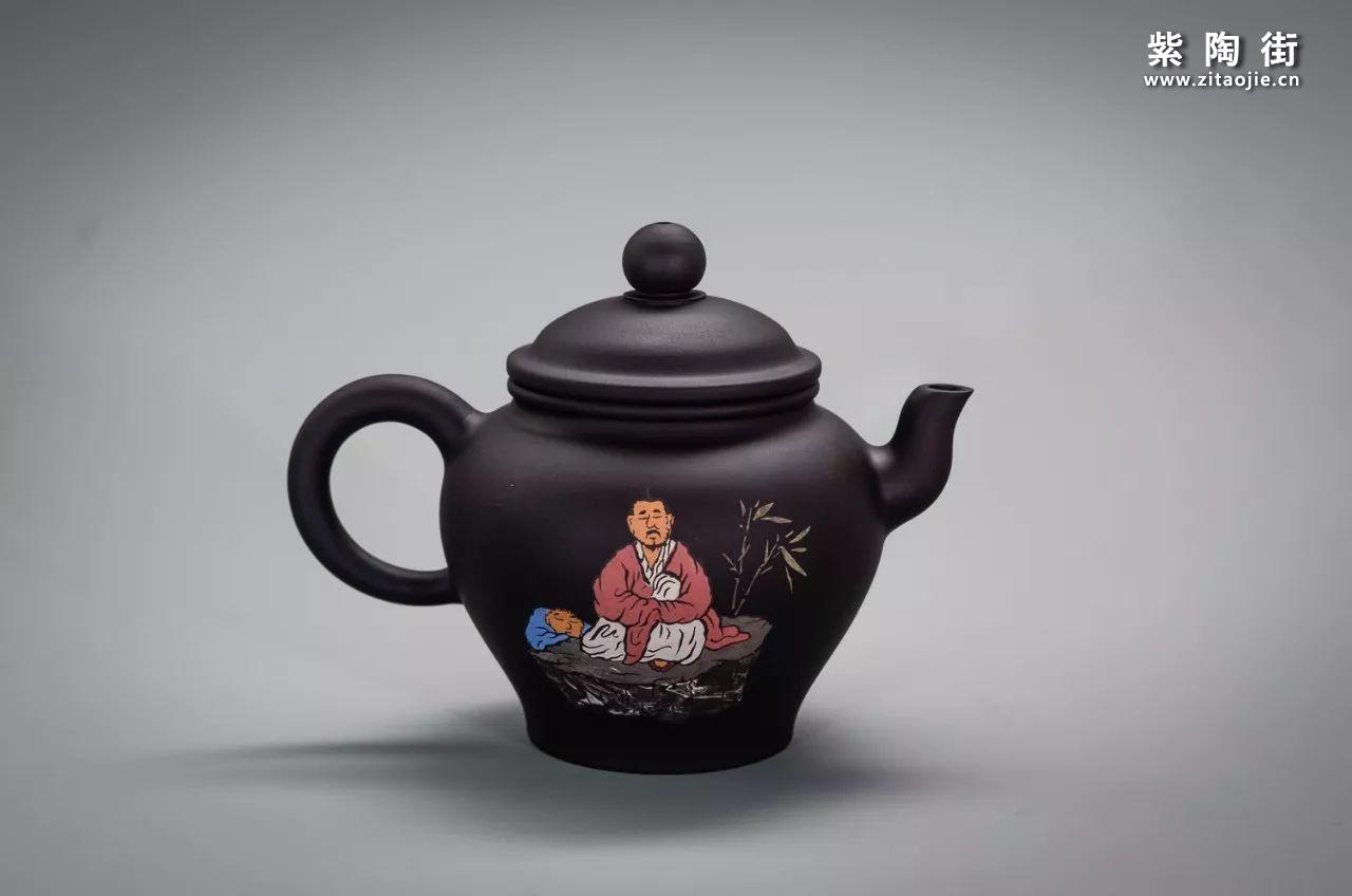 建水王志伟紫陶壶插图2