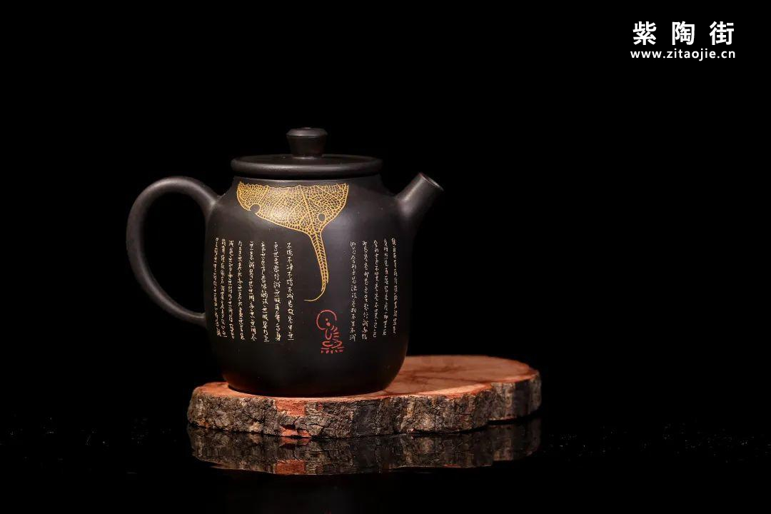 装饰有禅意的建水紫陶壶插图14