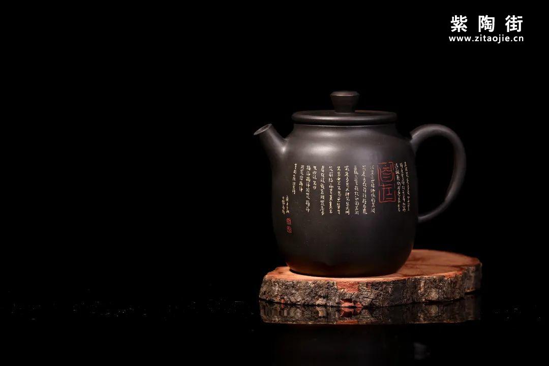 装饰有禅意的建水紫陶壶插图19