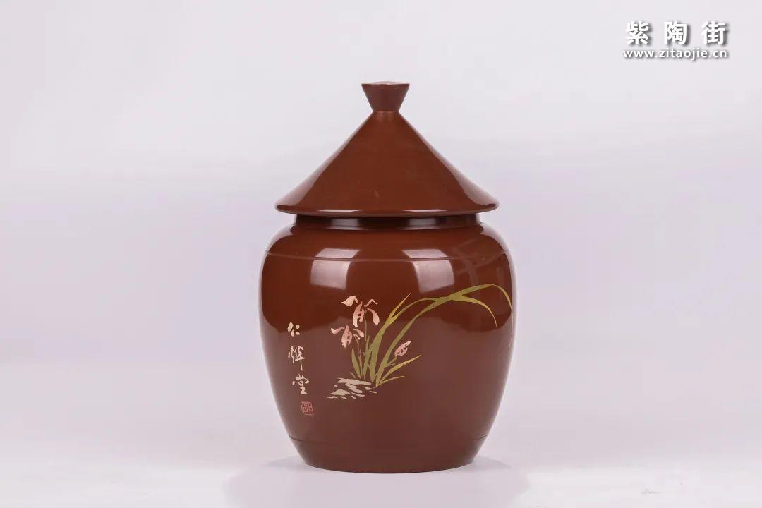 建水紫陶醒茶罐插图18