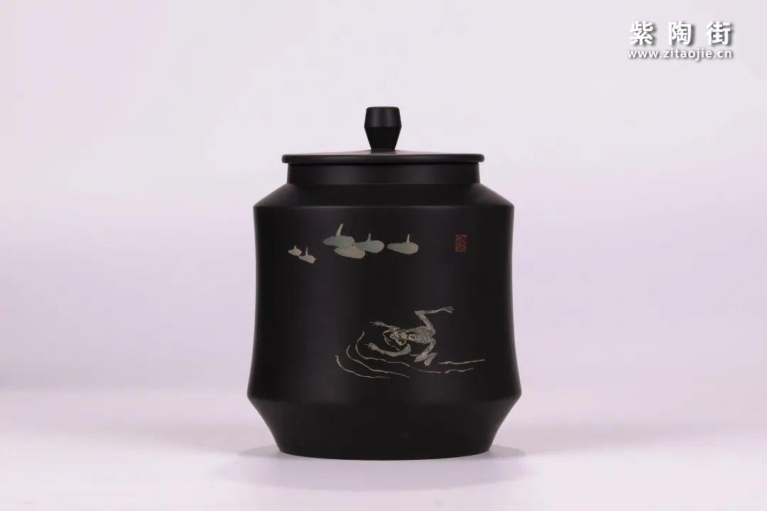 建水紫陶醒茶罐插图8