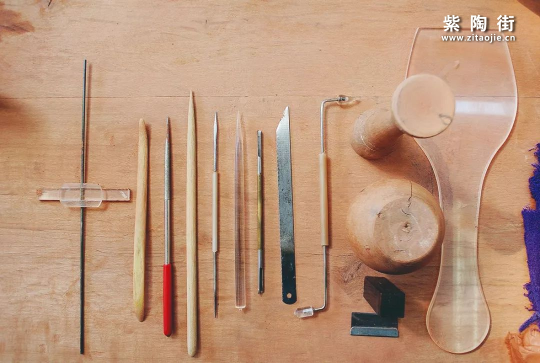 建水紫陶的制作工具有哪些?插图5