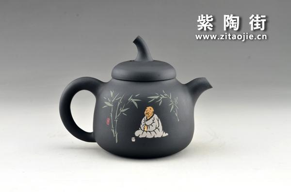 赏壶-王志伟紫陶工作室出品插图7