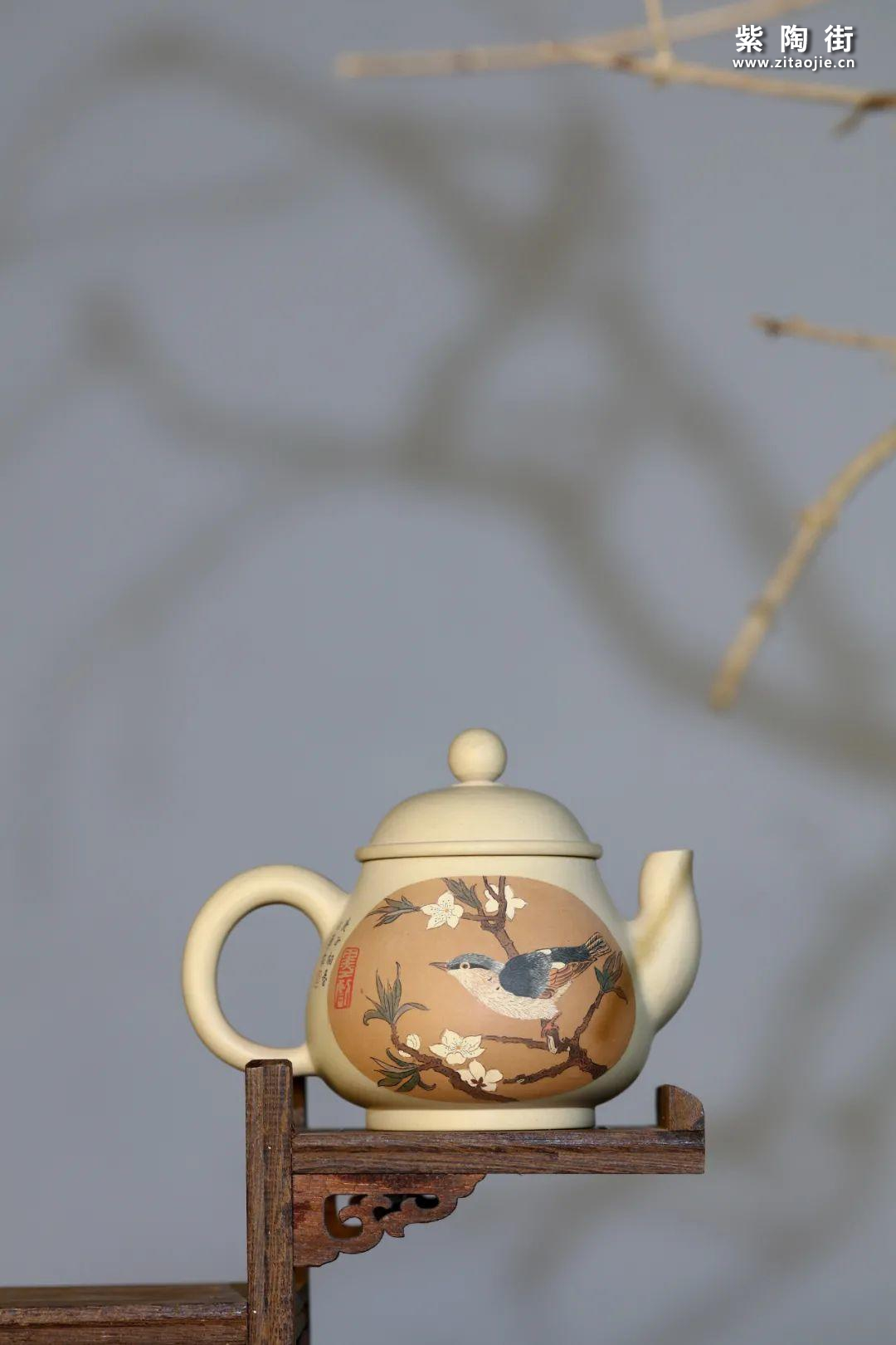 李由页精品紫陶壶插图4