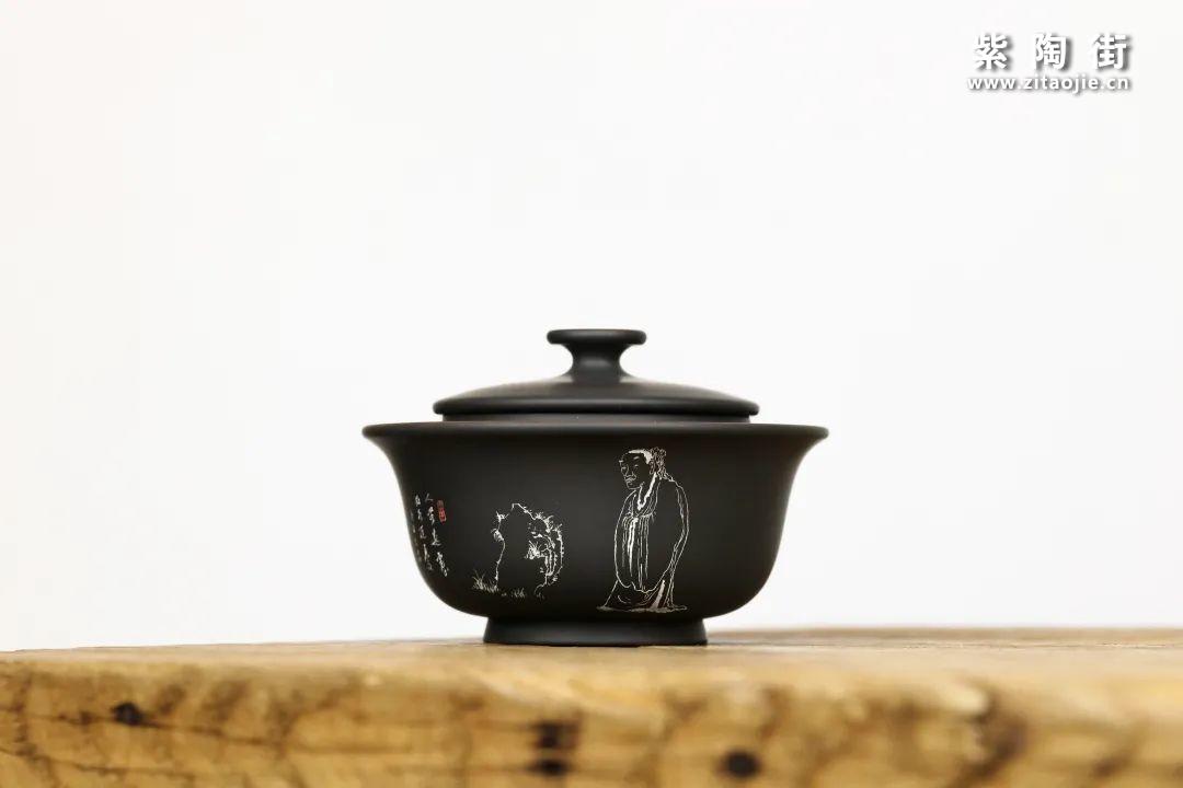建水紫陶盖碗插图10