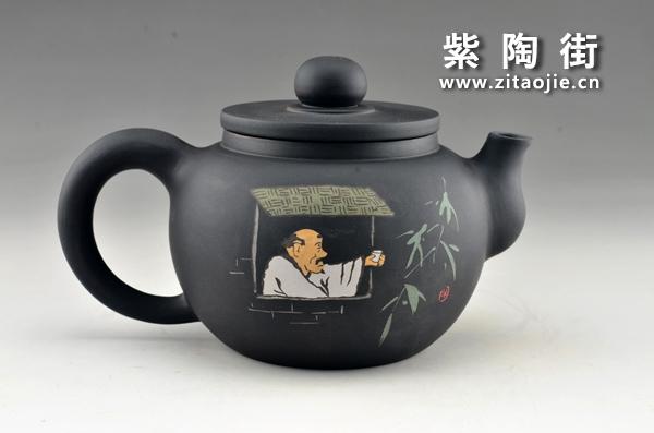 赏壶-王志伟紫陶工作室出品插图3