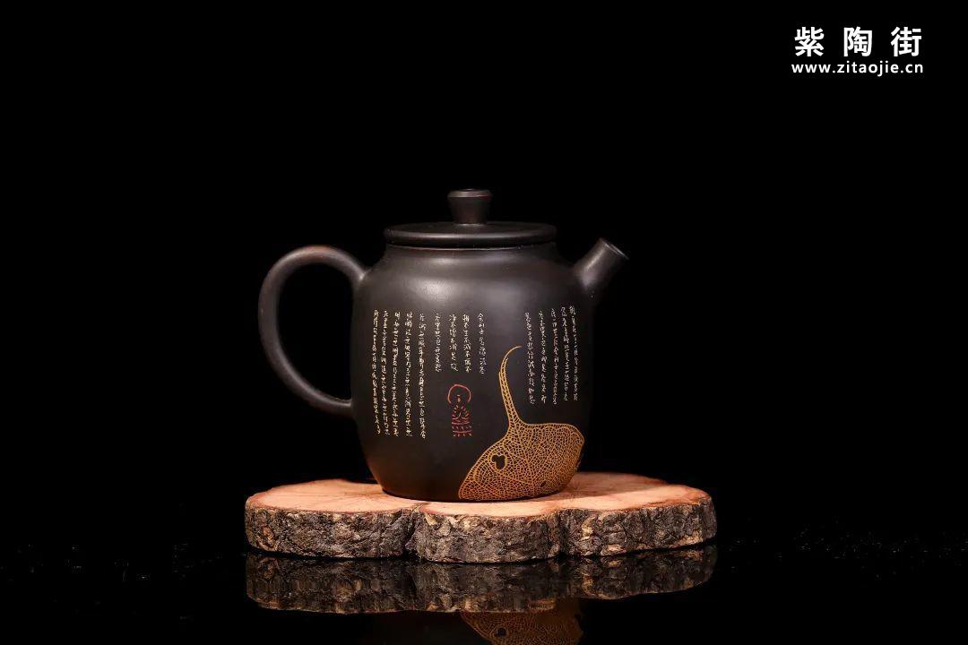 装饰有禅意的建水紫陶壶插图12