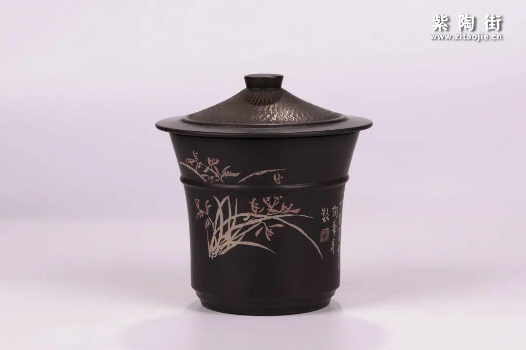 建水紫陶醒茶罐插图10