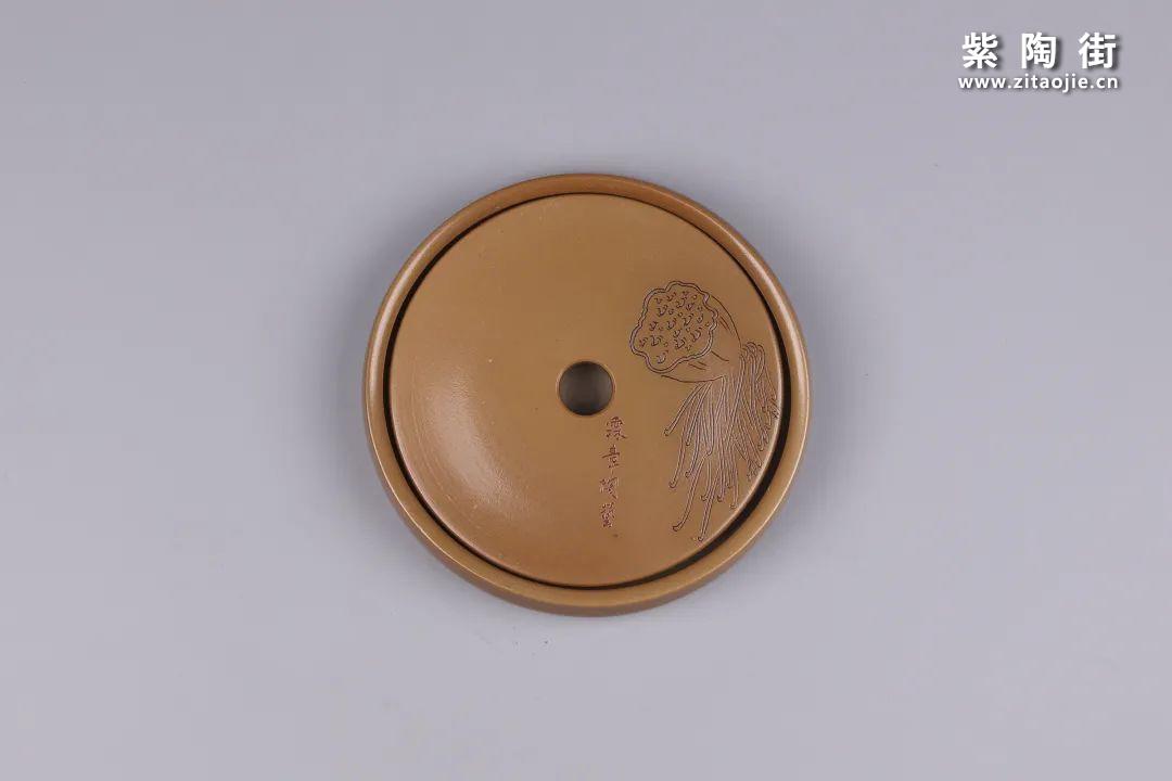 建水紫陶干泡盘插图124