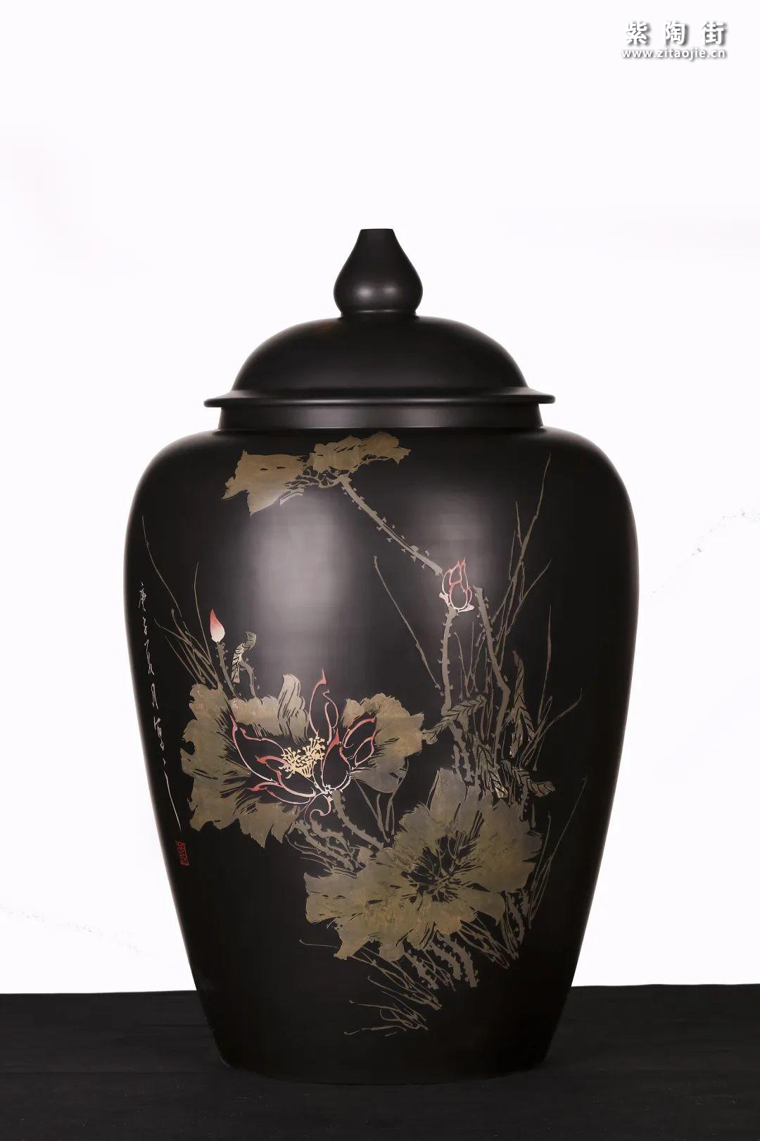 建水紫陶精品茶缸雅赏插图25