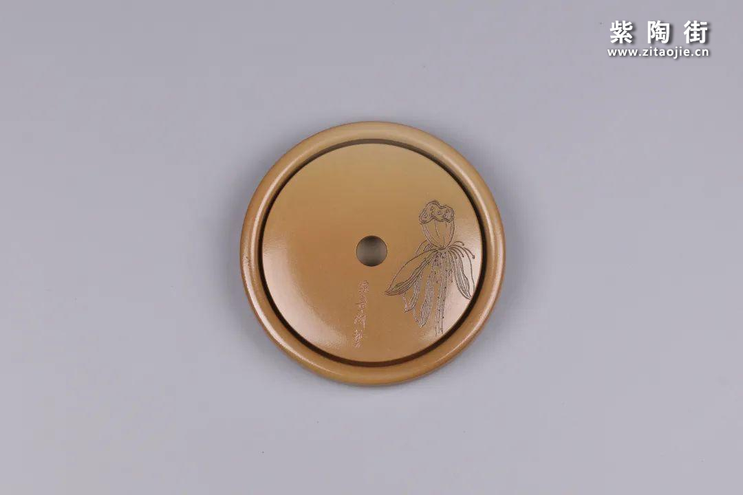 建水紫陶干泡盘插图34