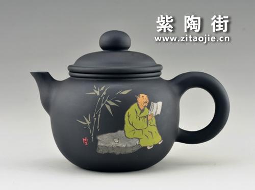 金秋赏壶-王志伟紫陶工作室出品插图1