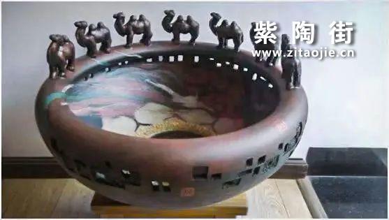 """建水沈正春介绍及""""画点紫陶坊""""紫陶作品插图4"""