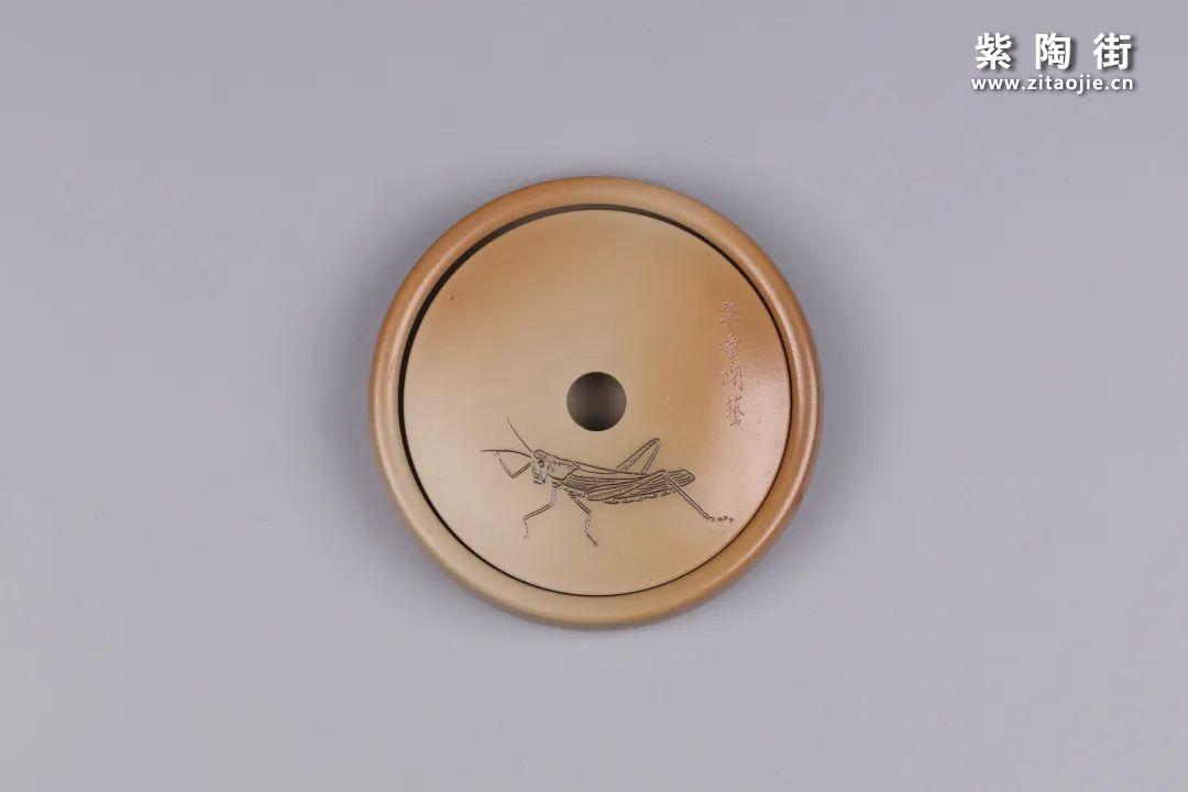 建水紫陶干泡盘插图55