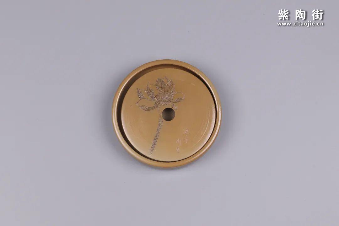 建水紫陶干泡盘插图59