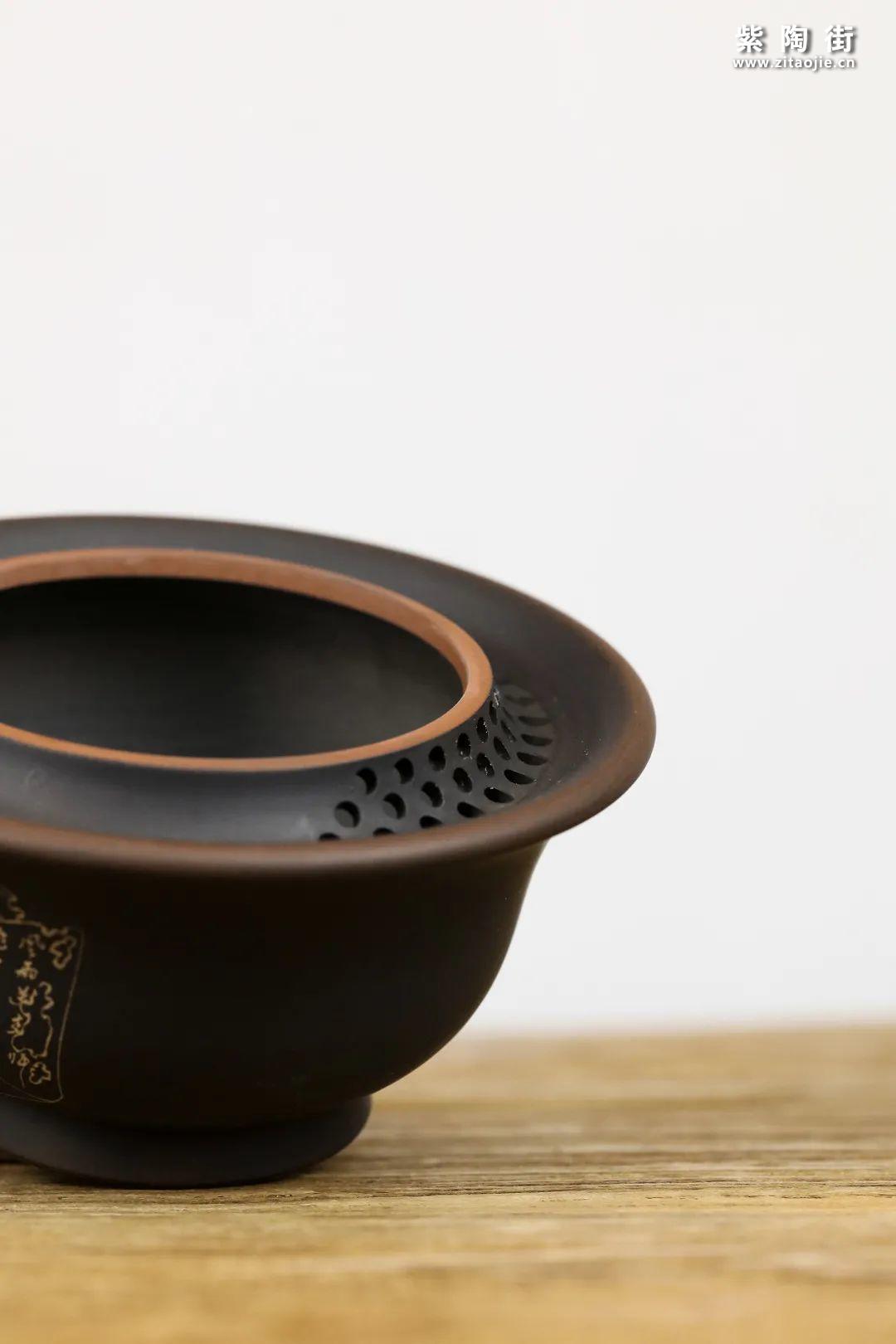 建水紫陶盖碗插图12