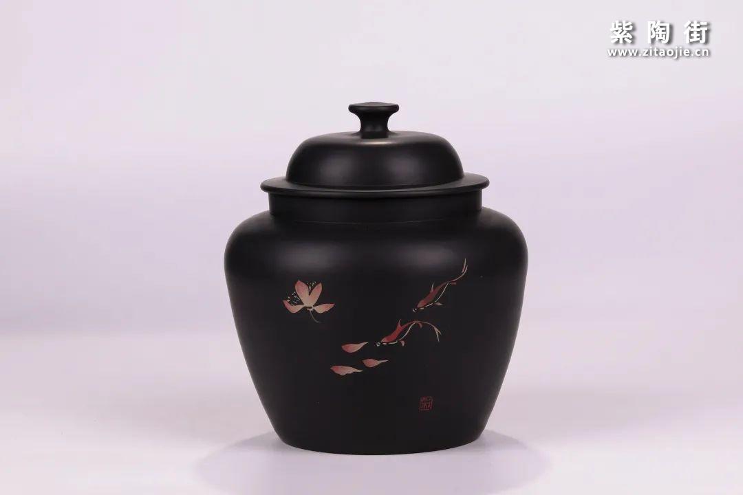 建水紫陶醒茶罐插图5