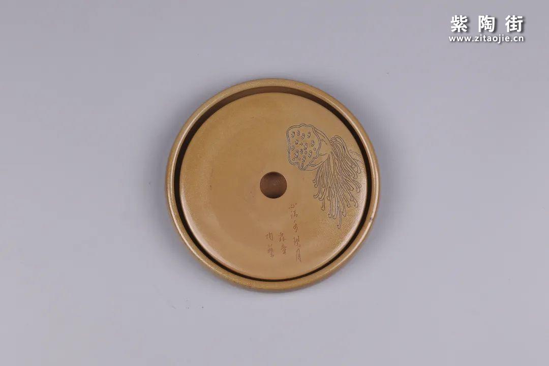 建水紫陶干泡盘插图115