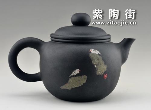 金秋赏壶-王志伟紫陶工作室出品插图5