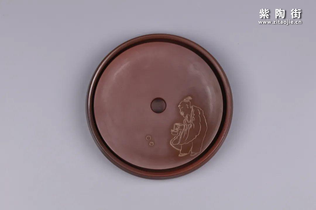 建水紫陶干泡盘插图23