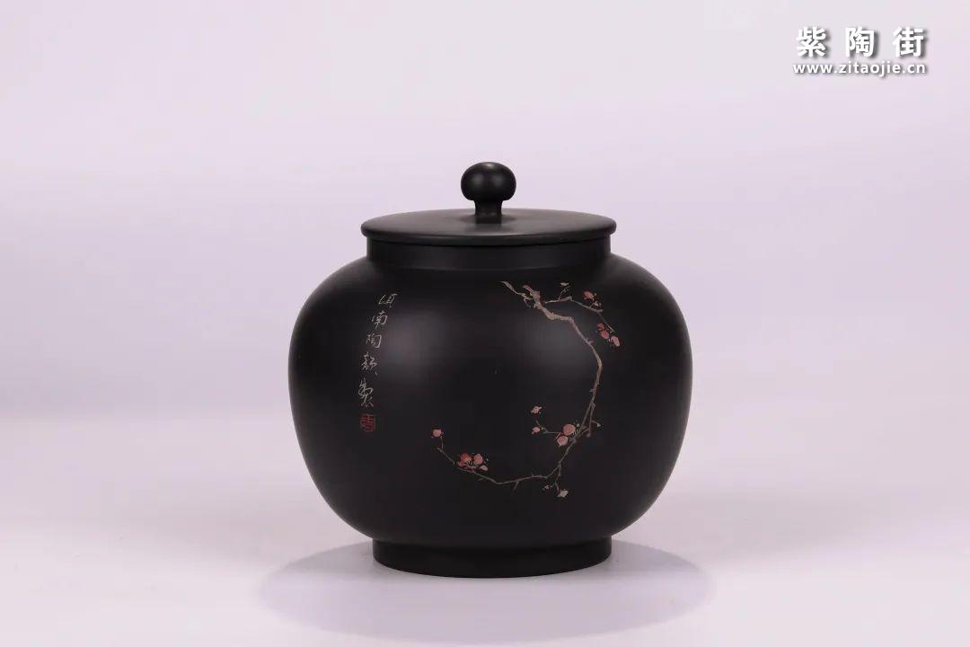 建水紫陶醒茶罐插图7