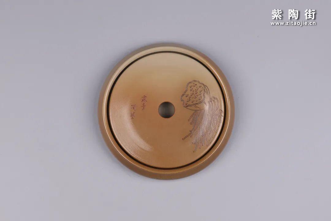 建水紫陶干泡盘插图125