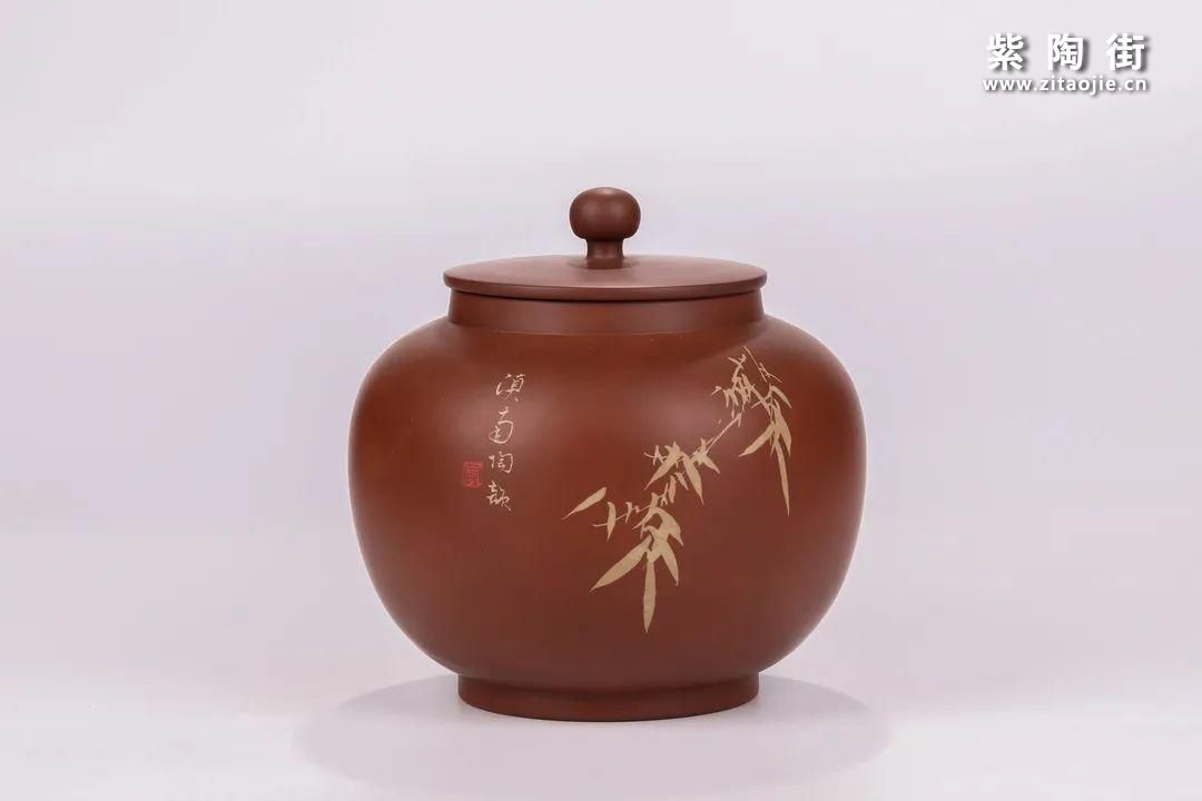 建水紫陶醒茶罐插图26