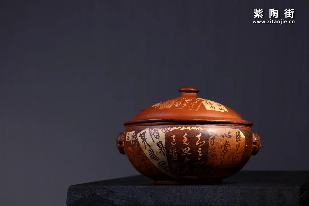 建水紫陶汽锅插图