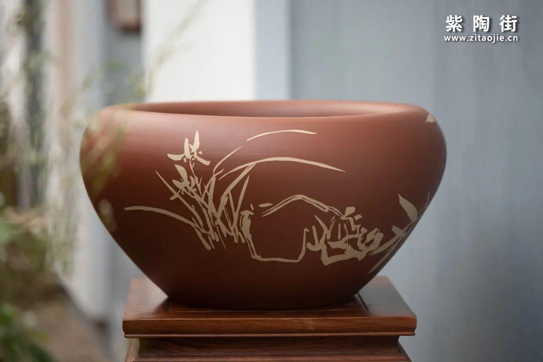 建水紫陶羊肝红是什么样子的插图28