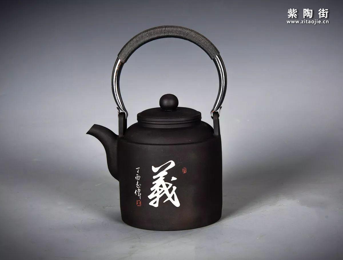 王志伟建水紫陶提梁壶汇总插图4