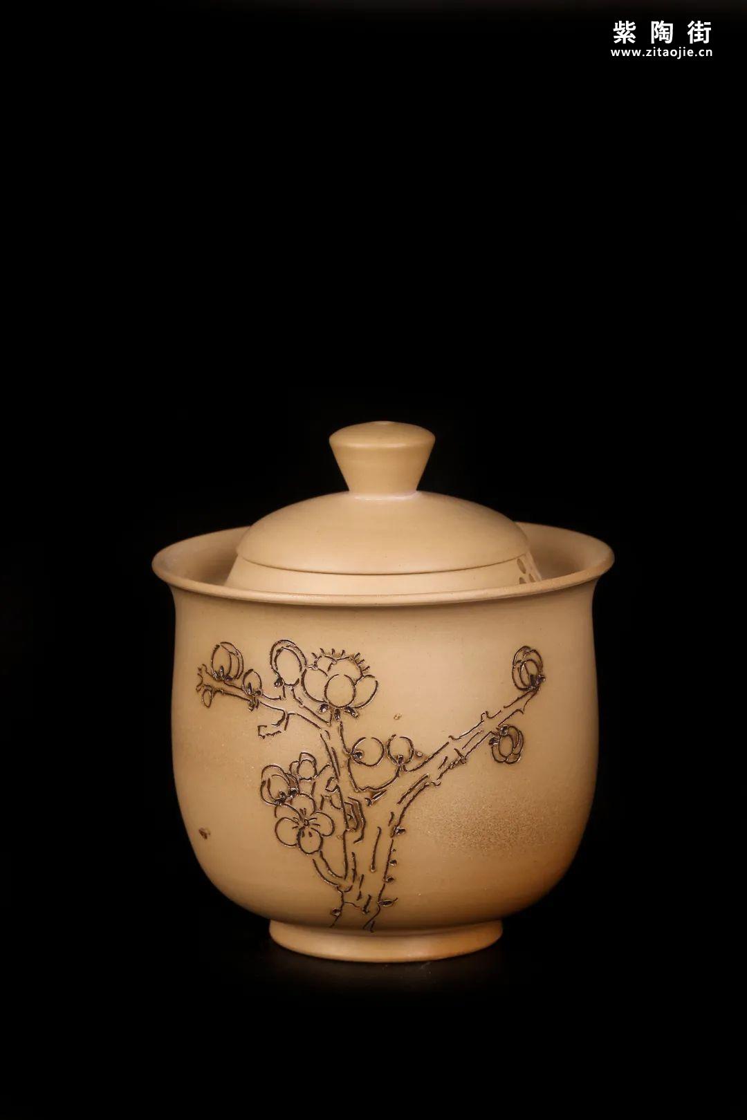 建水紫陶盖碗插图23