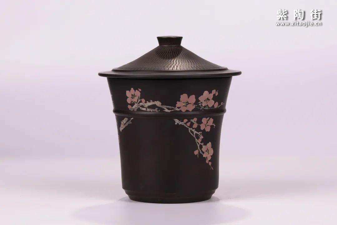 建水紫陶醒茶罐插图9