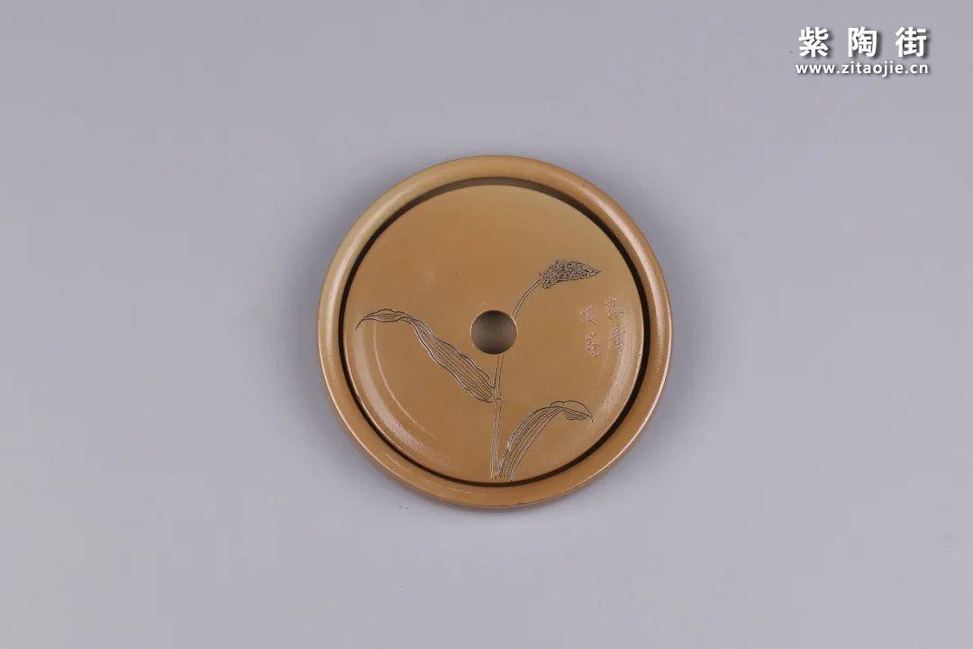 建水紫陶干泡盘插图32
