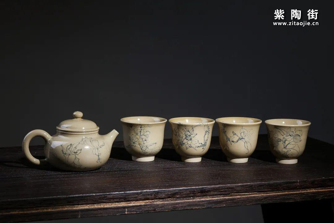 云南青花瓷的工艺与绘画研究及建水李俊青花瓷作品插图