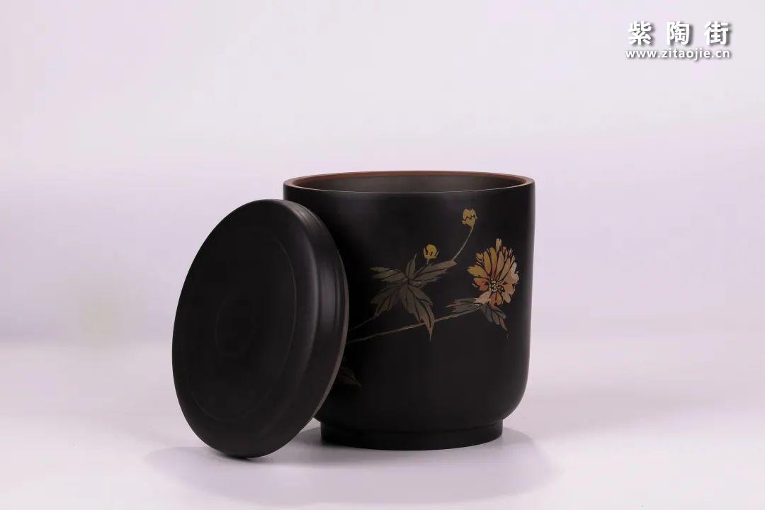建水紫陶醒茶罐插图17