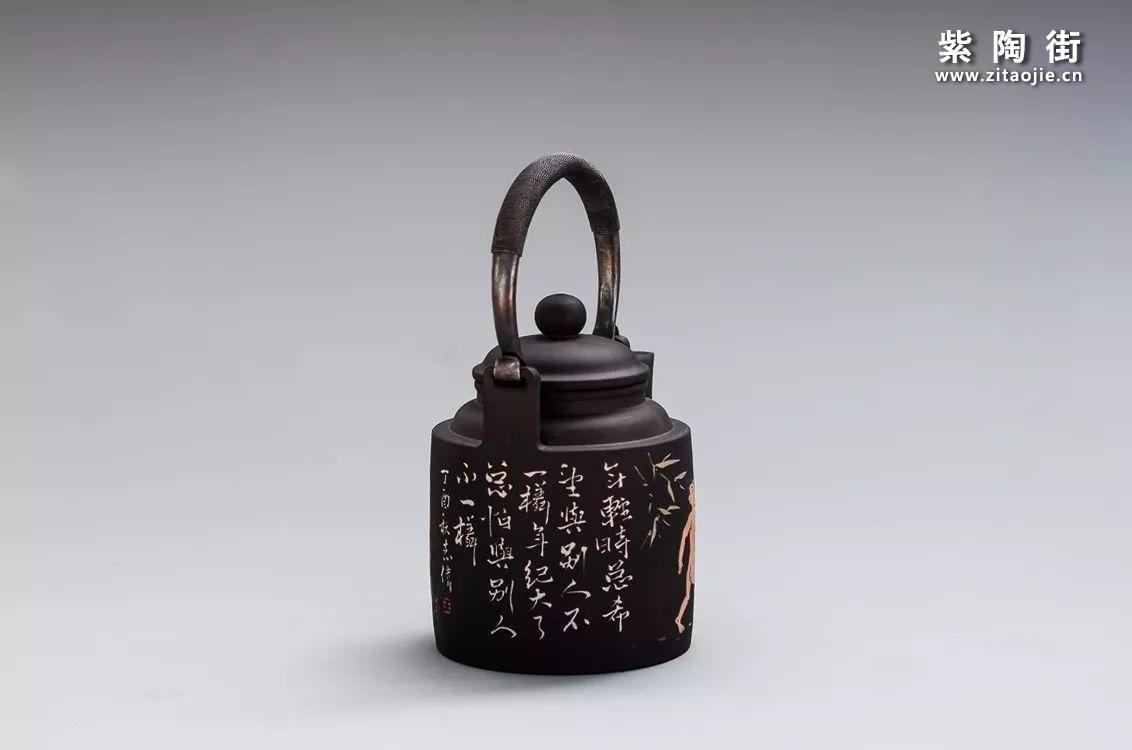 王志伟建水紫陶提梁壶汇总插图2