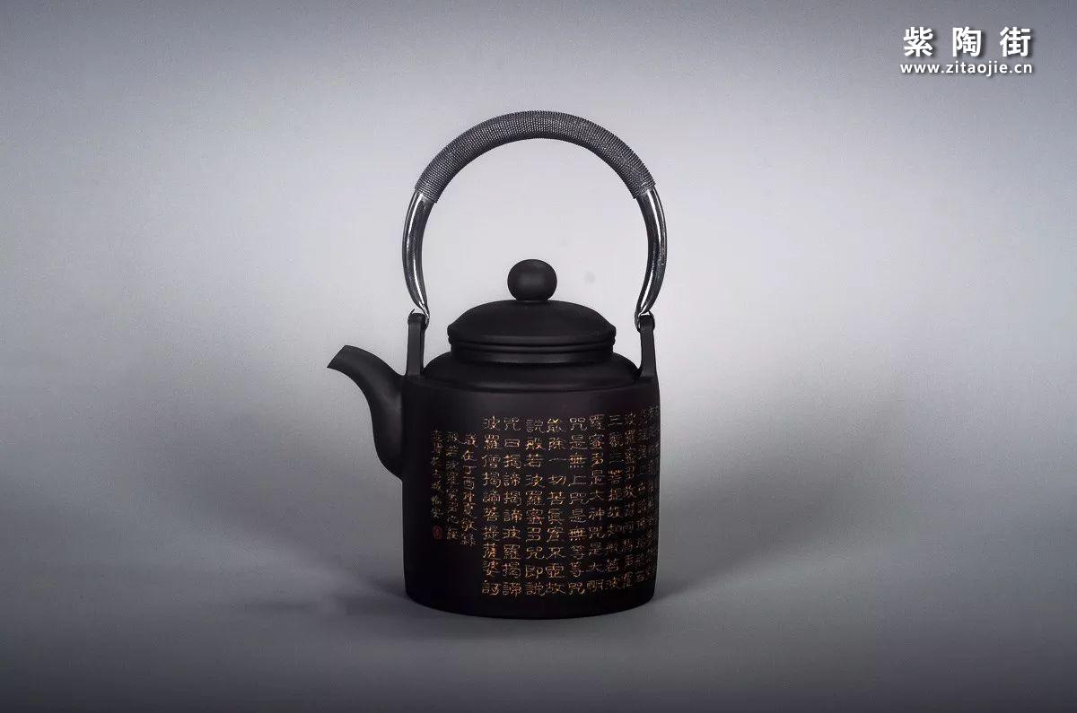 王志伟建水紫陶提梁壶汇总插图17
