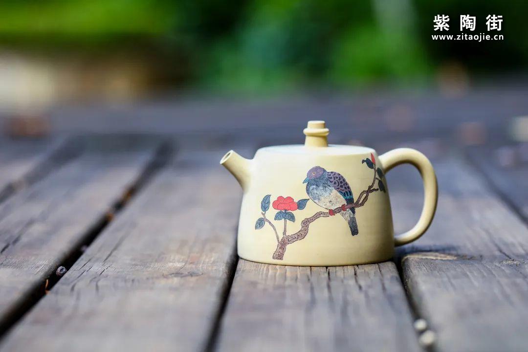 """建水紫陶上的""""花鸟""""装饰插图11"""