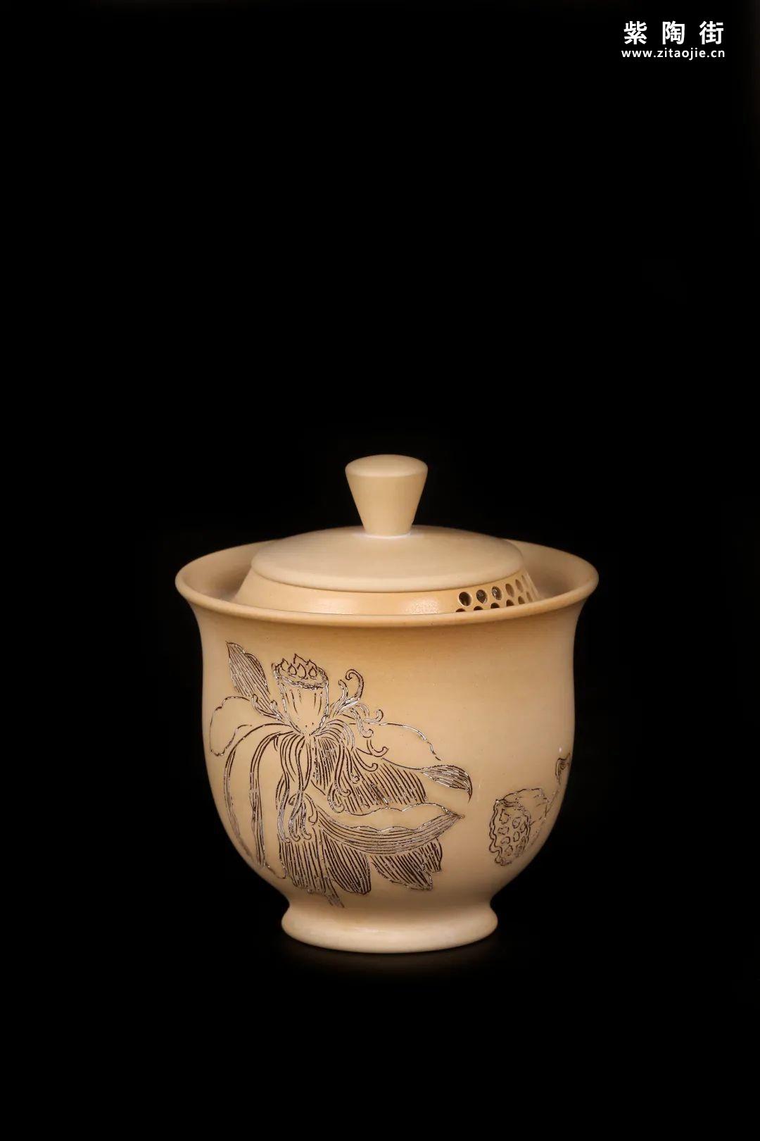 建水紫陶盖碗插图20