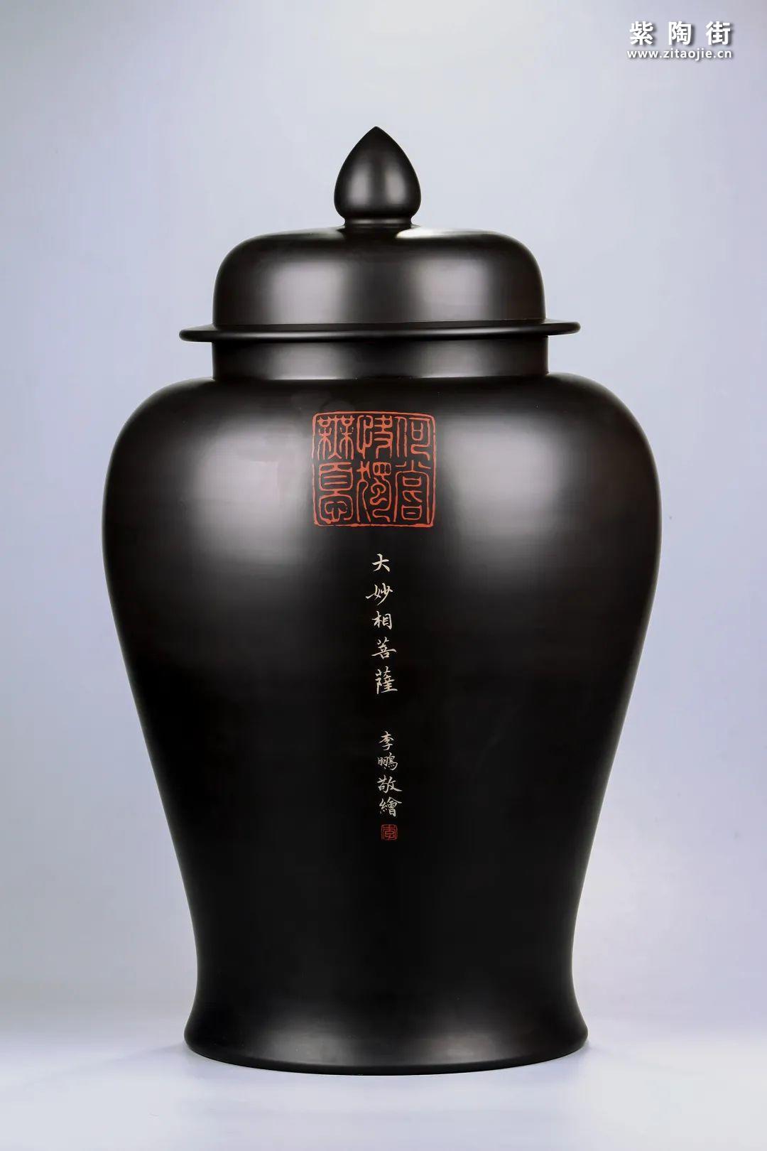 建水紫陶将军罐欣赏插图1
