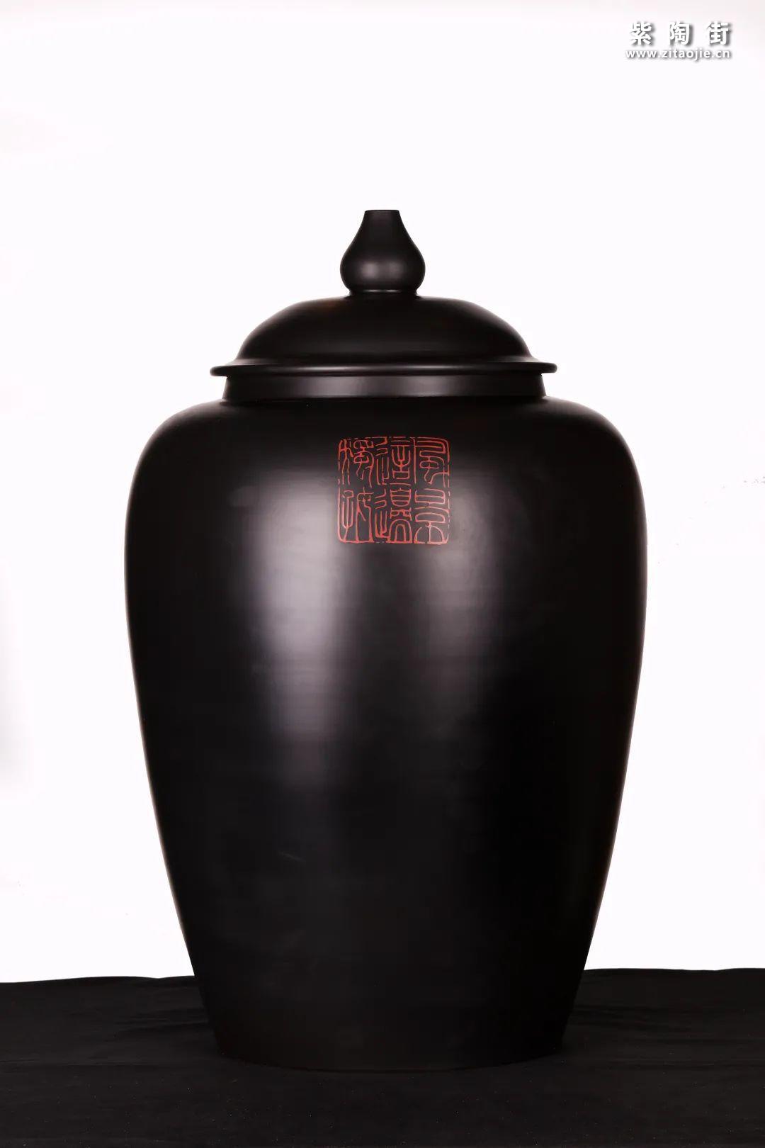 建水紫陶精品茶缸雅赏插图9